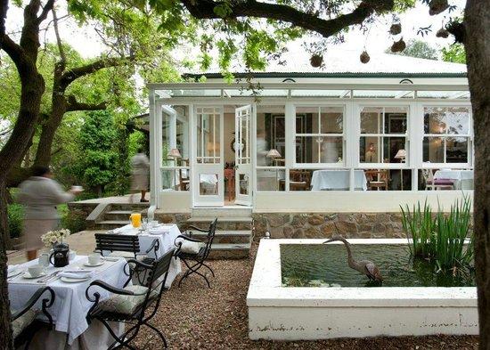 Bartholomeus Klip Farmhouse: Conservatory
