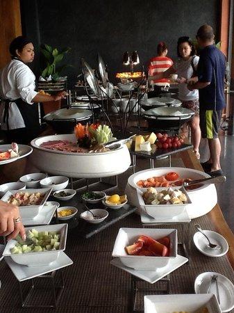 Hansar Samui Resort:                   Frühstücksbuffet
