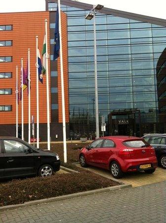 Van der Valk Hotel Rotterdam-Blijdorp :                   de entree