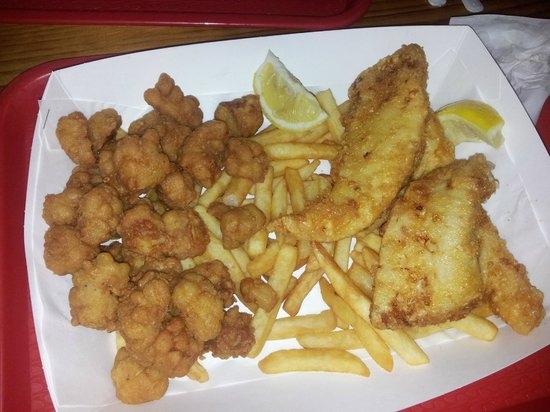 The Squid Shack:                   Squid & snapper for 2