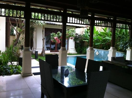 Pat-Mase, Villas at Jimbaran:                                     view from living area