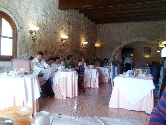Son Amoixa Vell:                   Das Restaurant
