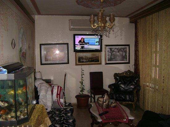 Sultan's Eye Comfort Hotel:                   на ресепшн