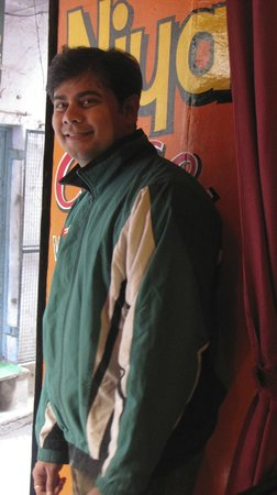 Ravi Prakash, owner/chef Niyati Cafe