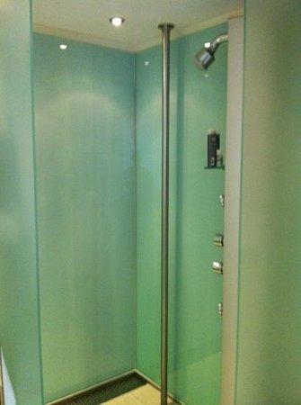 Le Meridien Vienna:                   shower