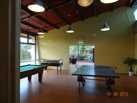 A&O Prag Metro Strizkov: Billard - Table soccer - Table tennis