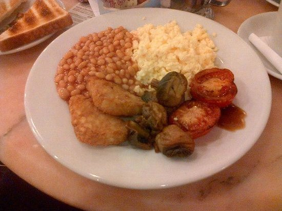 Mark Toney Cafe and Ice Cream Parlour:                   Veggie breakfast was gorgeous