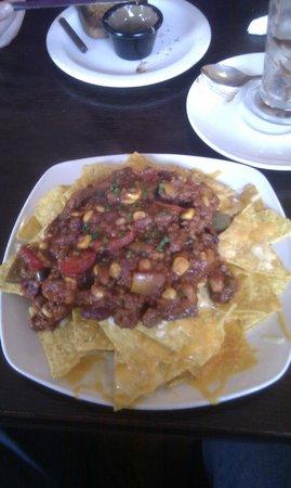 Chocolate Cafe: Nachos with Chilli