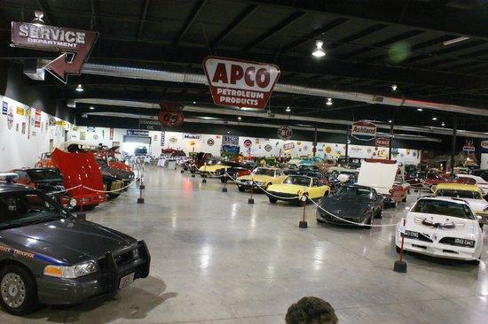 Tupelo Automobile Museum:                   un musee bien aéré