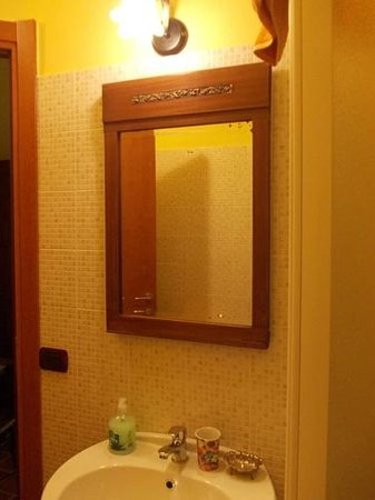 B&B La Sciguetta: bagno/bathroom/Bad