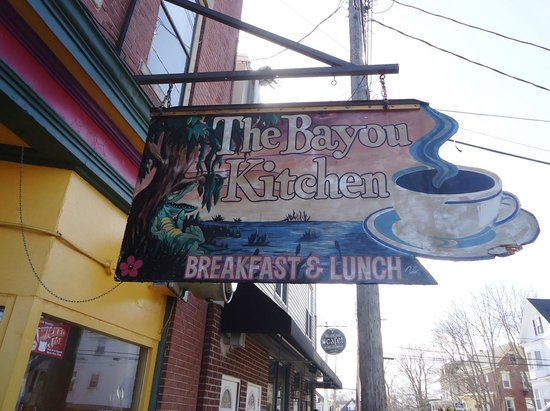 Bayou Kitchen: Cajun Kitchen Sign, Mar. 2013