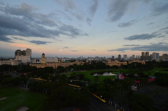The Bayleaf Intramuros:                   View of Manila from rooftop