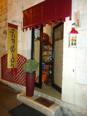 Corato, Italy:                                     Paninoteca sandwich