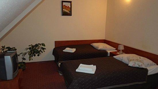 Hotelik Przy Bramie:                   pokój hotelowy