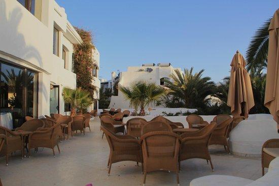 Fiesta Beach Club Djerba:                   terrasse
