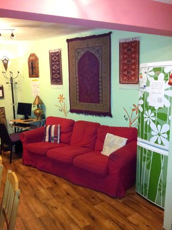 Hostel Marrakesh: Common room