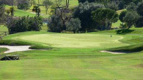 Marbella Club Hotel Golf Resort: Green 7 Marbella Club Golf Resort