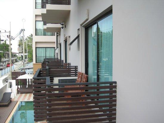 Maytara Hotel:                   balcony view