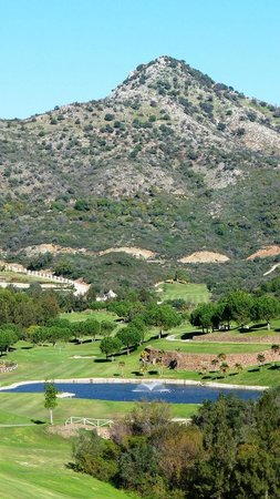 hole 16 and mountain Marbella Club Golf Resort