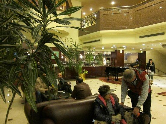 Eresin Hotels Topkapi:                   ロビー風景