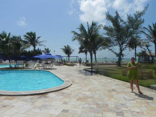 Prodigy Beach Resort Marupiara:                   Vista maravilhosa da piscina em conjunto com a praia