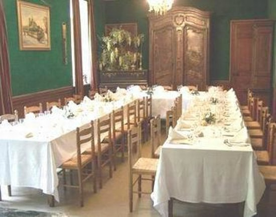 Chateau de Bonnevaux : salle à manger
