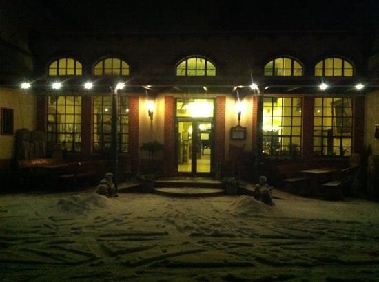 Landhotel Gustav:                   Winter wonderland