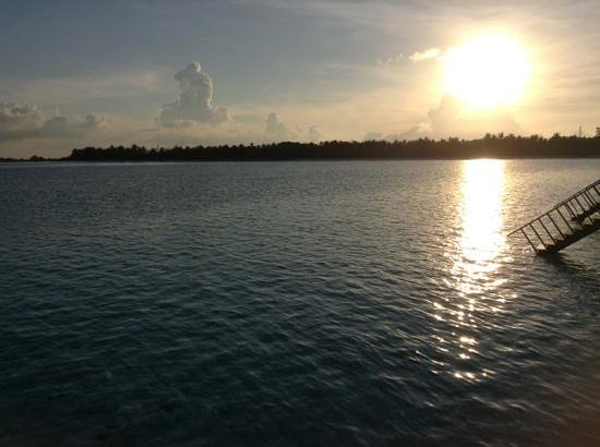 Paradise Island Resort & Spa:                   sunset view from haven villa