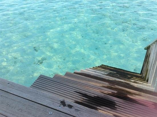 Paradise Island Resort & Spa:                   acces to the sea lagoon from haven villa