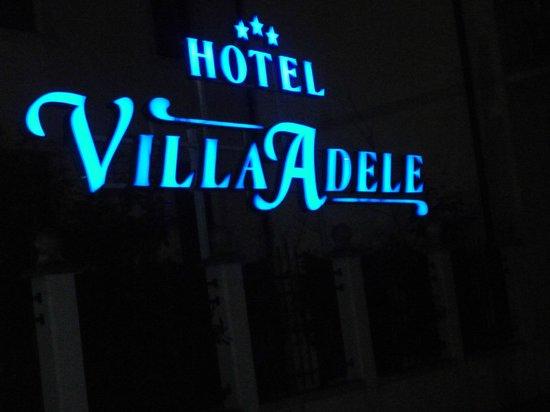 Villa Adele Hotel:                   At night
