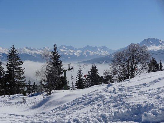 Haus Wiesenruh: Uitzicht vanaf de berg