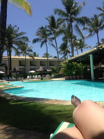 Hotel Transamerica Ilha de Comandatuba:                   Doce descanso na piscina