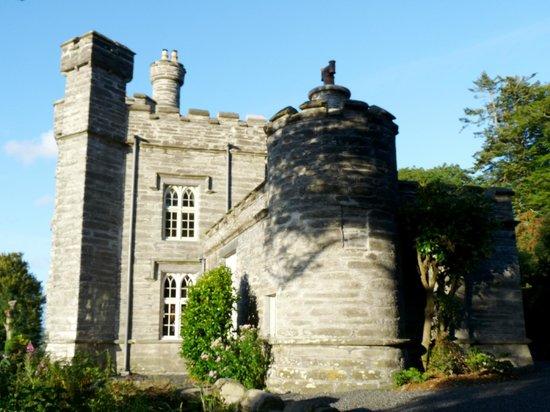 Glandyfi Castle:                   View of Castle