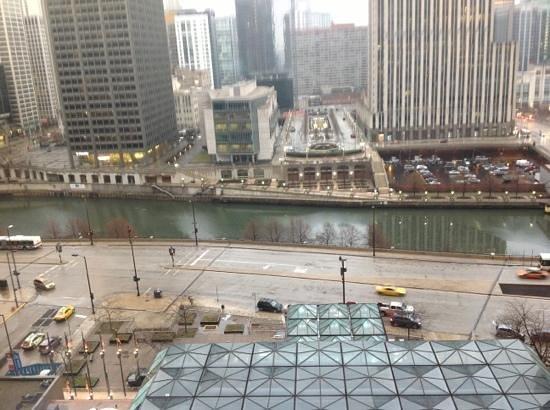 Hyatt Regency Chicago:                   river view