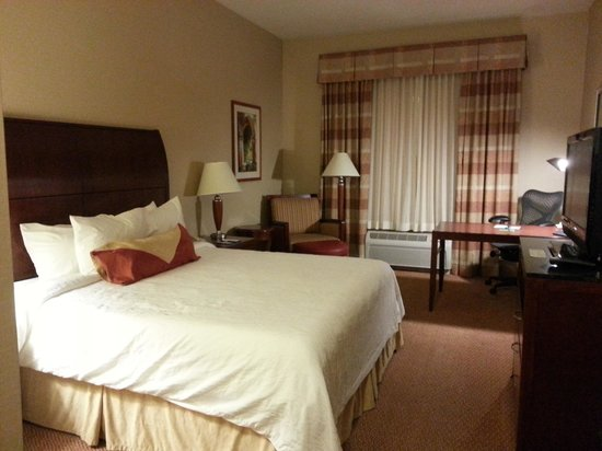 Hilton Garden Inn Great Falls: Room on the first floor