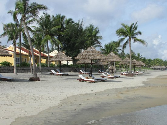Victoria Hoi An Beach Resort & Spa:                   The beach deserted and oh so beautiful