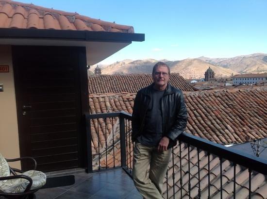 Tierra Viva Cusco Plaza :                   hotel balcony