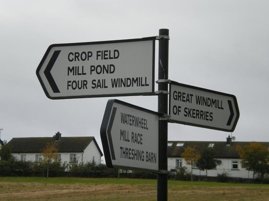 Skerries Mills:                   Skerries Mill Signs