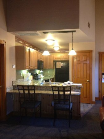 Westgate Smoky Mountain Resort & Spa:                   kitchen area