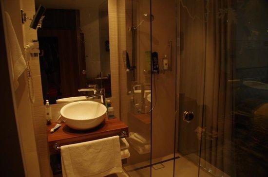 PURO Hotel:                   Łazienka