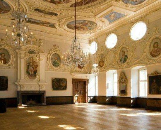 Höxter, Deutschland: Kaisersaal von Schloss Corvey