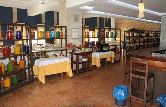 Motilla del Palancar, España: cafeteria