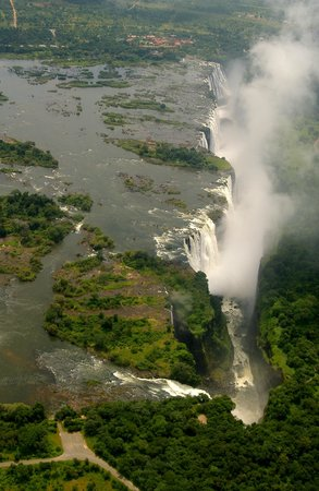 Shearwater Victoria Falls - Day Trips: Shearwater helicoper flights over Victoria Falls