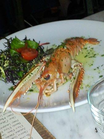 Gee's Restaurant :                   Langoustine