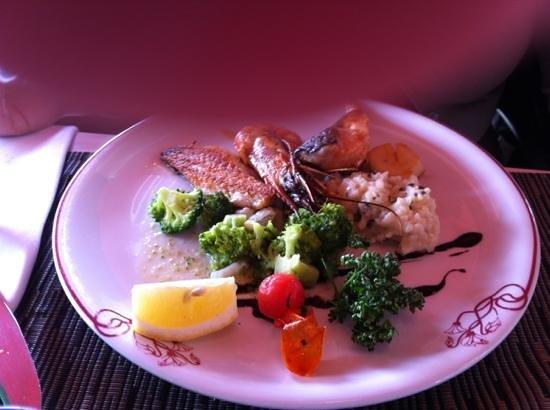 Restaurant Le Bellanda :                   pesce misto alla griglia