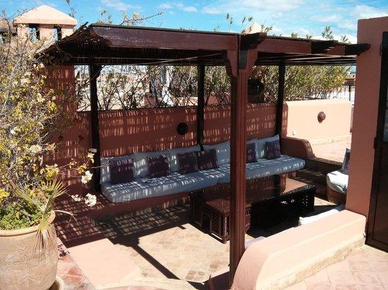 Riad Chergui:                                     Terrasse