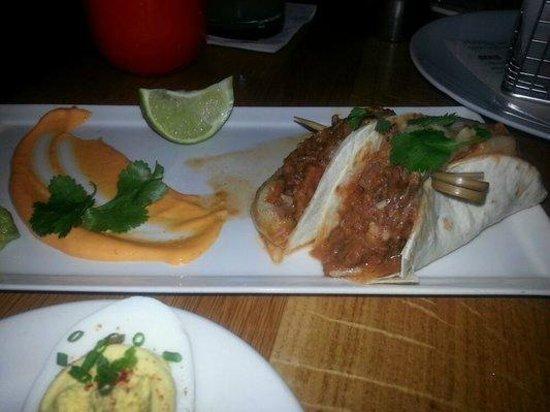 The Cedars Social:                   Short Rib Tacos