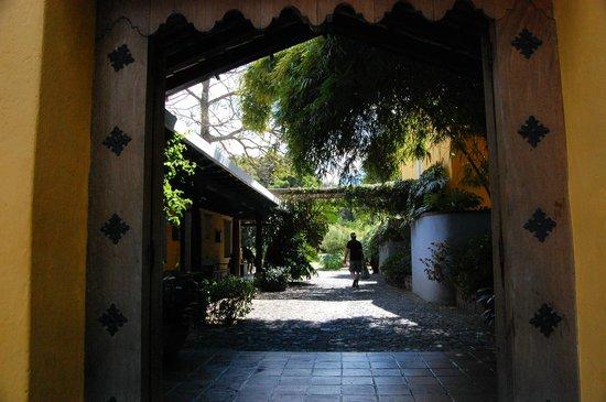 Quinta de las Flores: entrée