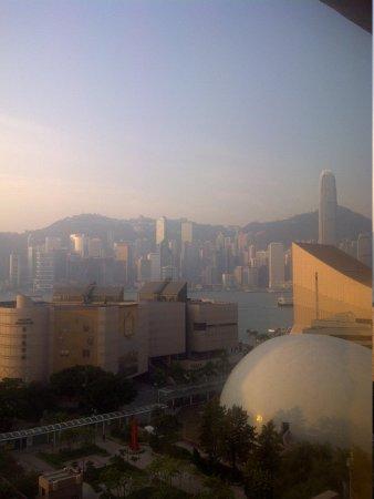 Sheraton Hong Kong Hotel & Towers: vue sur hong Kong de notre chambre