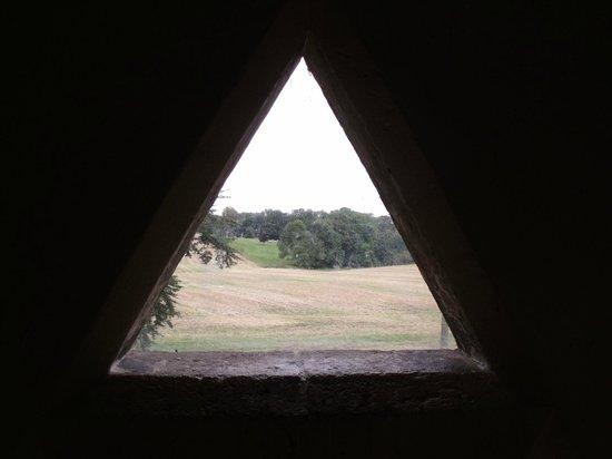 View from Rushton Triangular Lodge.